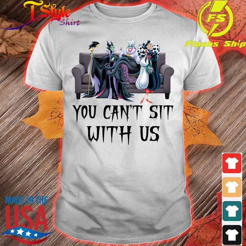 Villanas You can't sit with us shirt