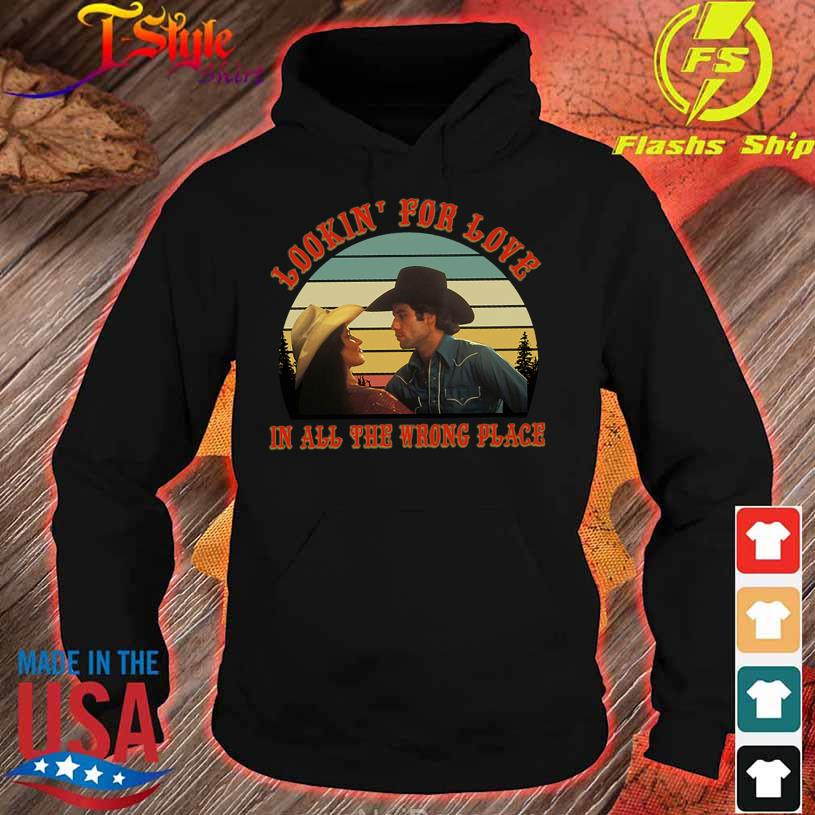 Looking' for love in all the wrong place vintage s hoodie