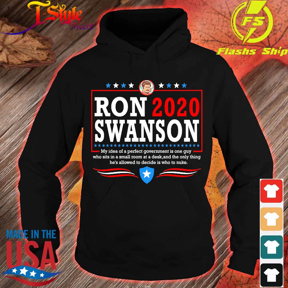 Parks ron 2020 swanson Shirt hoodie