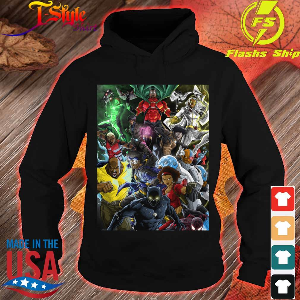 Superheroes of colour by Zack s hoodie