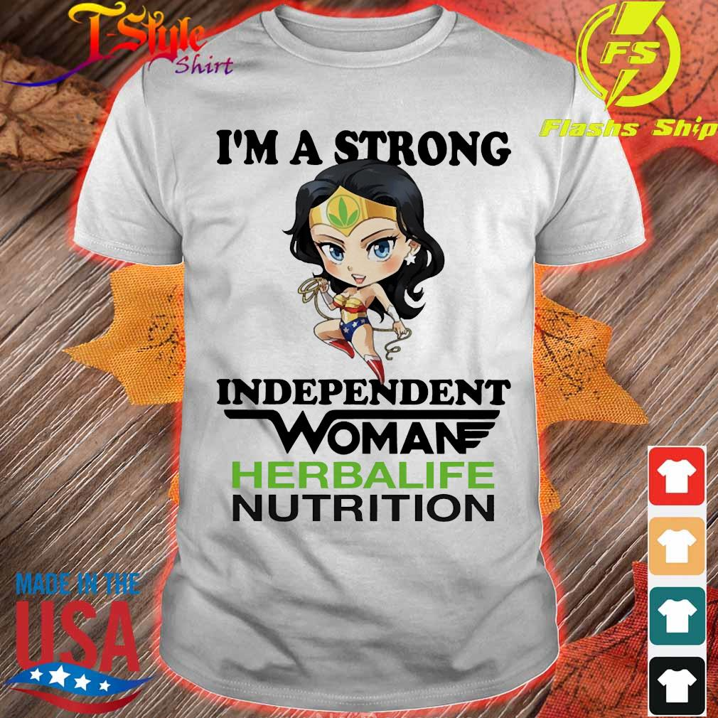 I_m a strong independent woman Herbalife Nutrition shirt