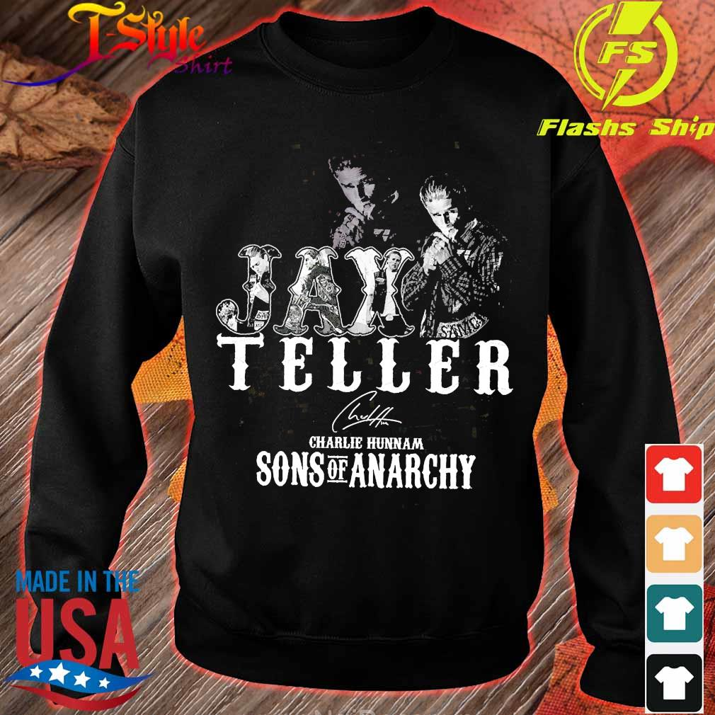 Jax Teller charlie hunnam Sons of anarchy signature s sweater