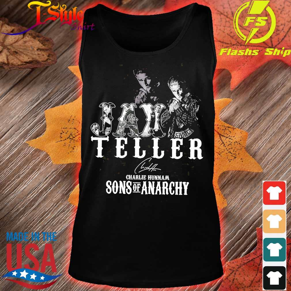 Jax Teller charlie hunnam Sons of anarchy signature s tank top