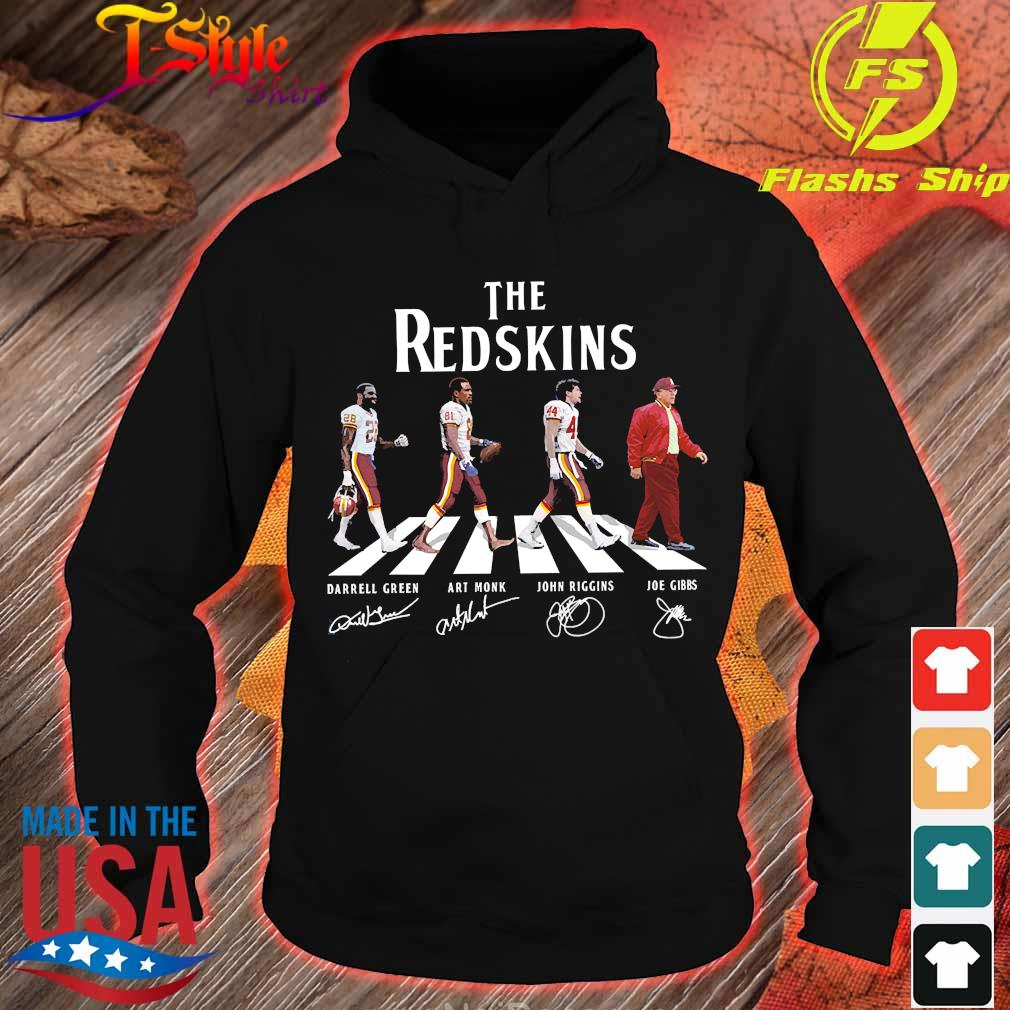 The Redskins abbey road signatures s hoodie