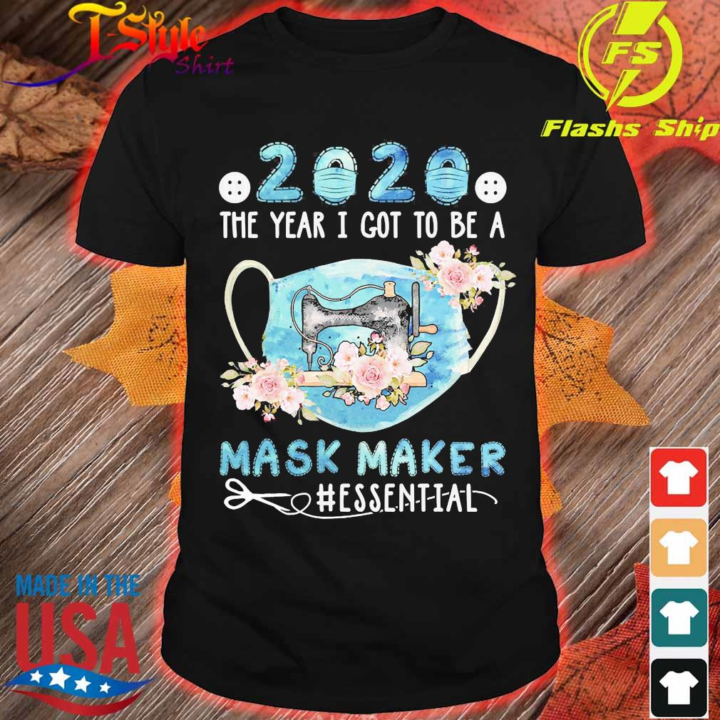 Sewing 2020 the year I got to be a mask maker essential flowers shirt