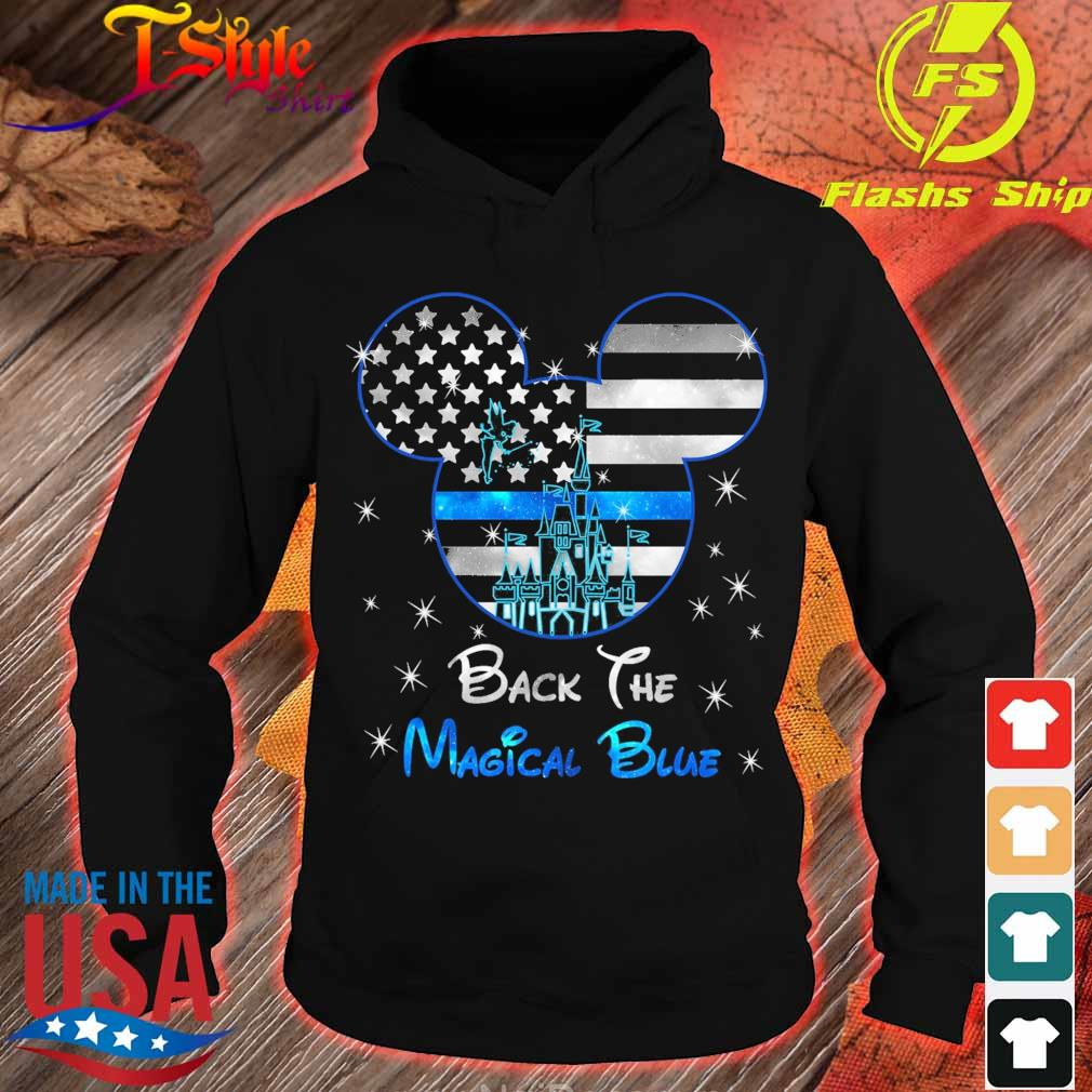 Mickey mouse back the Magical Blue s hoodie