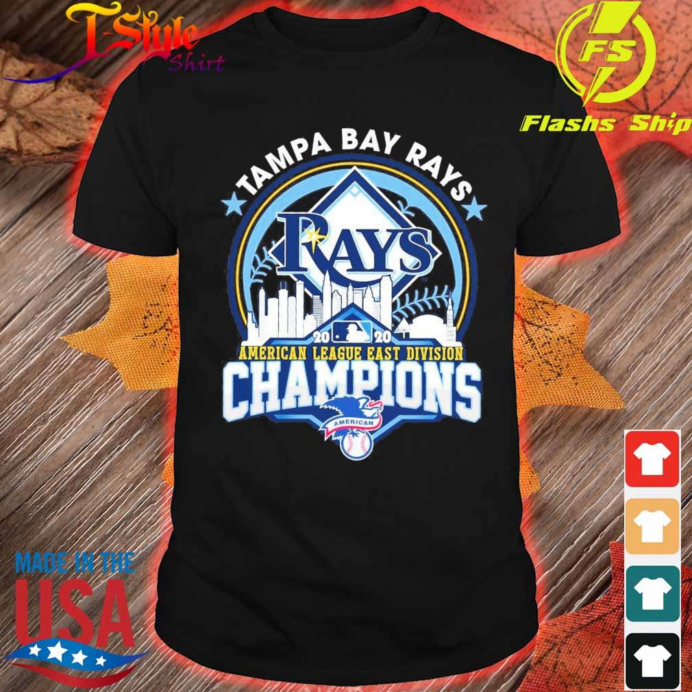 Tampa Bay Rays 2020 American league east Division Champions shirt