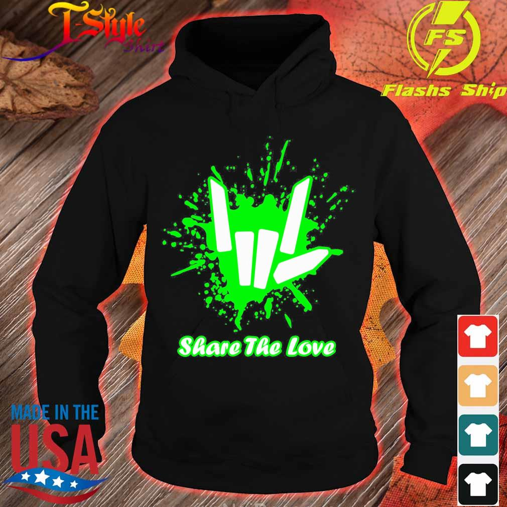 Rock And Roll Share The Love Shirt hoodie