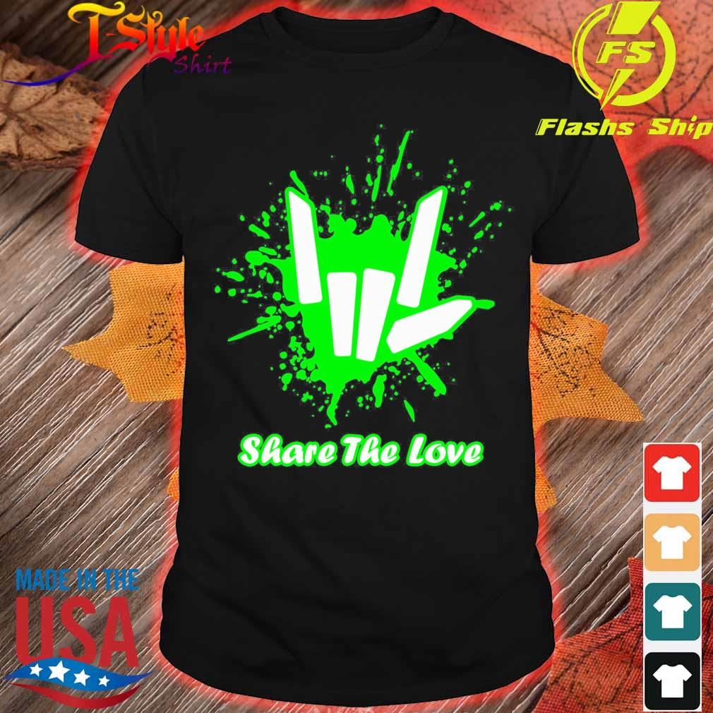 Rock And Roll Share The Love Shirt