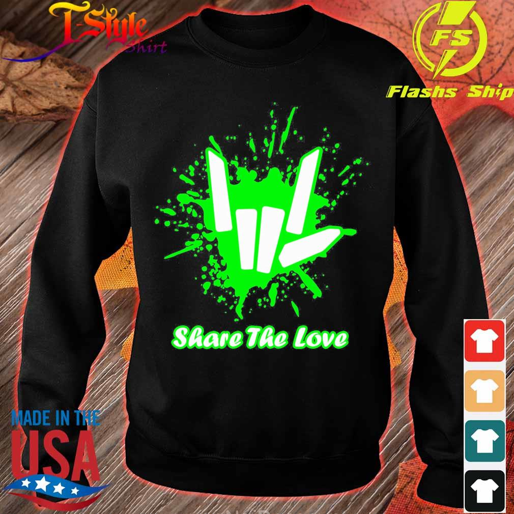 Rock And Roll Share The Love Shirt sweater