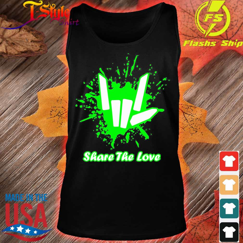 Rock And Roll Share The Love Shirt tank top
