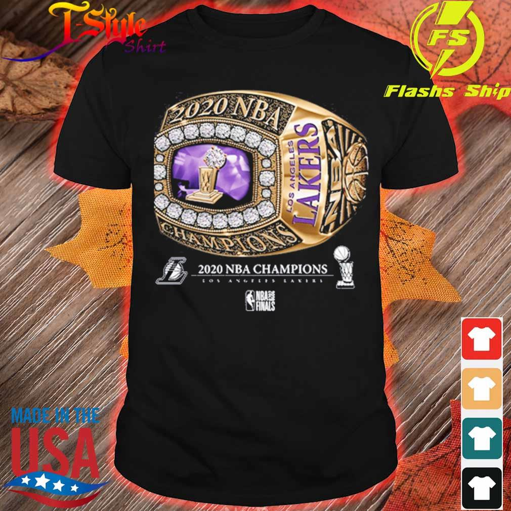 Rring Los Angeles Lakers Champions 2020 Shirt Hoodie Sweater Long Sleeve And Tank Top